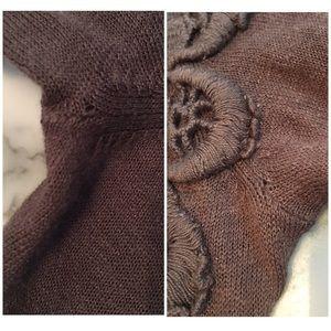 Anthropologie Sweaters - ❌SOLD❌ Anthropologie Leifsdottir Mantelet Cardigan